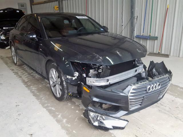 2018 Audi A4 PREMIUM   Vin: WAUKMAF45JA141247