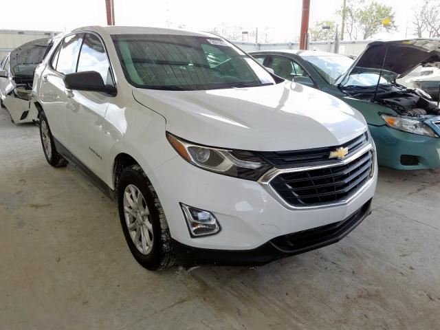 Salvage cars for sale from Copart Homestead, FL: 2019 Chevrolet Equinox LS