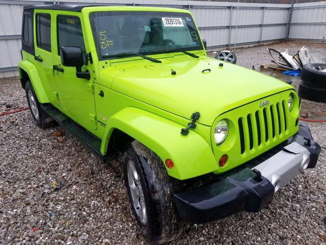 Salvage cars for sale from Copart Rogersville, MO: 2013 Jeep Wrangler U