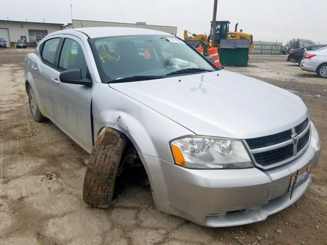 Salvage cars for sale from Copart Indianapolis, IN: 2010 Dodge Avenger SX
