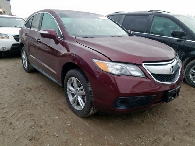 Acura RDX salvage cars for sale: 2015 Acura RDX