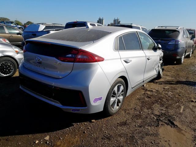 2018 Hyundai IONIQ   Vin: KMHC75LD4JU104324