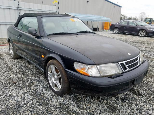 Salvage cars for sale from Copart Spartanburg, SC: 1998 Saab 900 SE Turbo