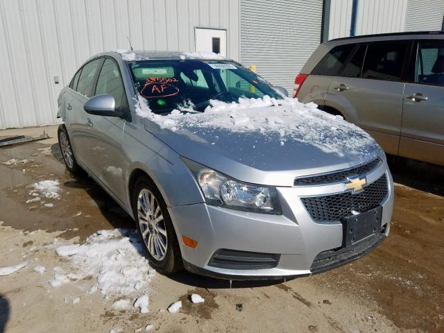 Salvage cars for sale from Copart Kansas City, KS: 2012 Chevrolet Cruze ECO