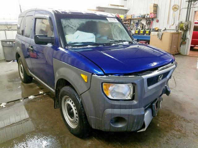 Honda Element LX salvage cars for sale: 2004 Honda Element LX