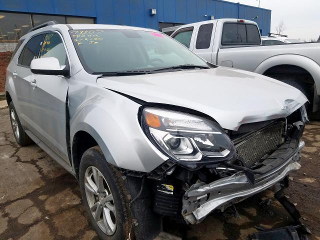 Salvage cars for sale from Copart Woodhaven, MI: 2016 Chevrolet Equinox LT