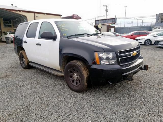 Salvage 2013 Chevrolet TAHOE POLICE for sale
