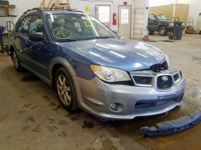 Salvage cars for sale from Copart Ham Lake, MN: 2007 Subaru Impreza OU
