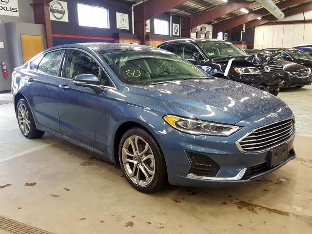 Salvage 2019 FORD FUSION SEL - Small image. Lot 29999100