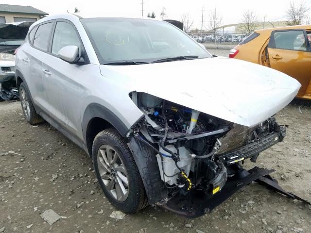 Salvage cars for sale from Copart Eugene, OR: 2018 Hyundai Tucson SE