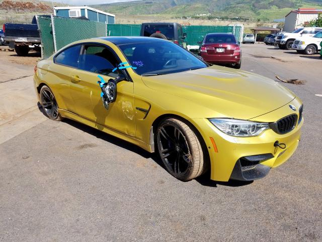 Salvage cars for sale from Copart Kapolei, HI: 2015 BMW M4