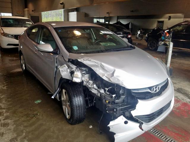 Salvage cars for sale from Copart Sandston, VA: 2013 Hyundai Elantra GL