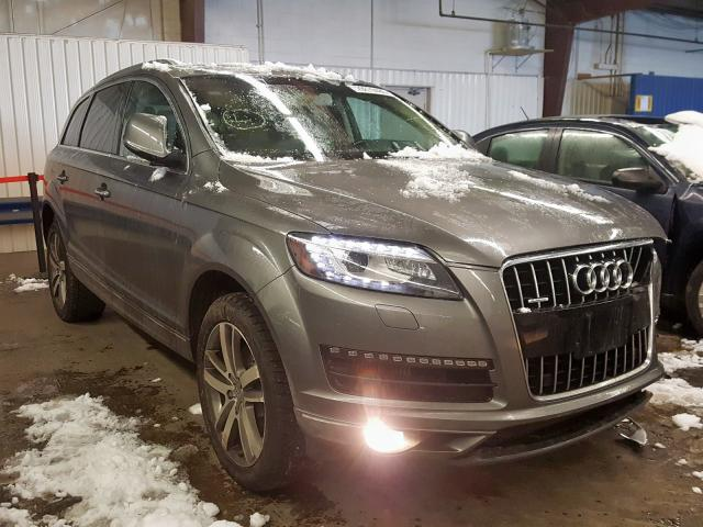 Audi Q7 Prestige salvage cars for sale: 2011 Audi Q7 Prestige