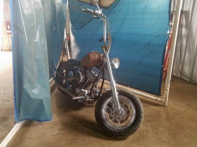 Salvage 2008 Cust Tanker MOTORCYCLE for sale