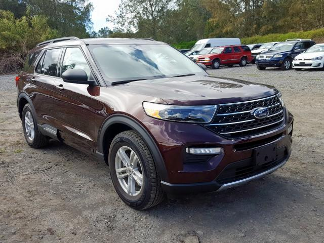 Salvage cars for sale from Copart Kapolei, HI: 2020 Ford Explorer X