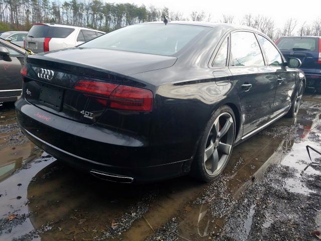 2017 Audi A8 L QUATTRO | Vin: WAU43AFD1HN009424