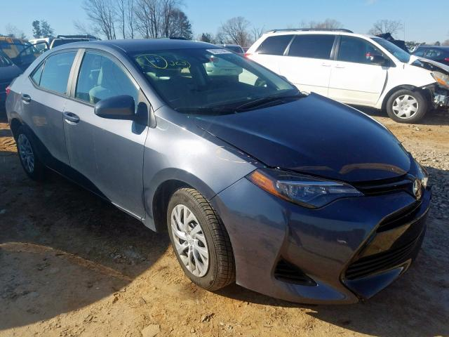 Salvage cars for sale from Copart China Grove, NC: 2018 Toyota Corolla L