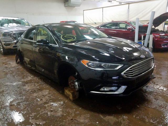2018 Ford FUSION   Vin: 3FA6P0K96JR259858