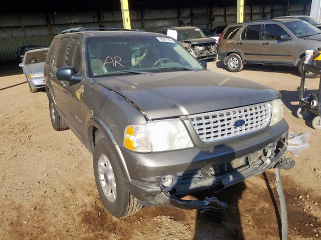 Ford Explorer L salvage cars for sale: 2002 Ford Explorer L