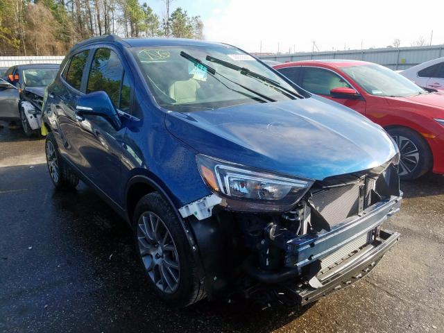 Buick Encore Sport salvage cars for sale: 2019 Buick Encore Sport