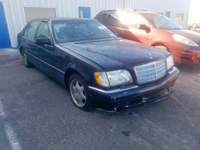 Mercedes-Benz S 320 salvage cars for sale: 1998 Mercedes-Benz S 320