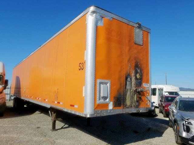 Wabash Trailer salvage cars for sale: 2003 Wabash Trailer