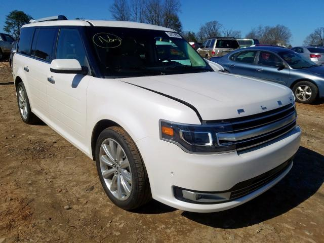 Ford Flex Limited salvage cars for sale: 2018 Ford Flex Limited