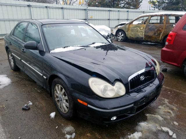 auto auction ended on vin kmhwf35h52a691933 2002 hyundai sonata gls in oh dayton autobidmaster