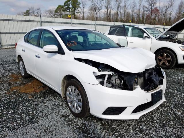 Nissan salvage cars for sale: 2016 Nissan Sentra S