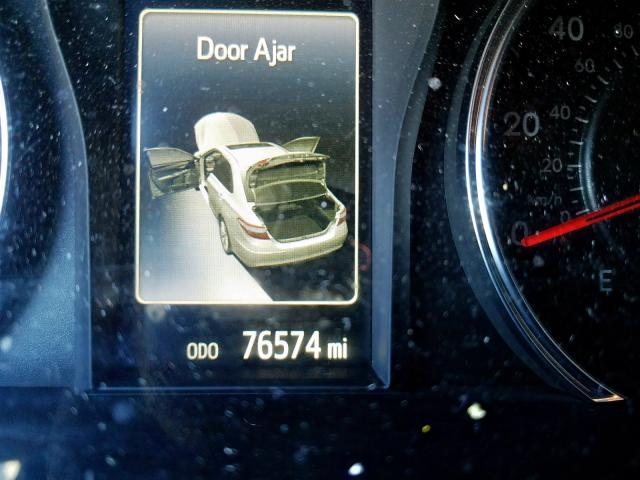 2016 TOYOTA CAMRY XSE - Engine View