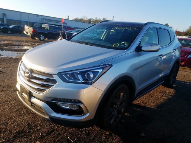 2018 Hyundai SANTA | Vin: 5XYZWDLA0JG536055