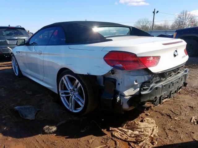 2015 BMW 6 series | Vin: WBALW7C51FD596200