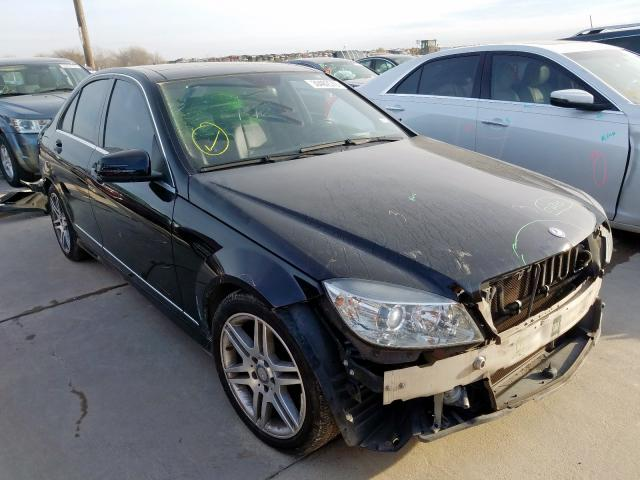 Mercedes-Benz C 350 salvage cars for sale: 2010 Mercedes-Benz C 350