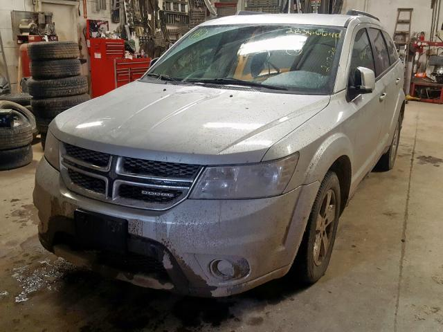 2011 DODGE JOURNEY MA - Left Front View