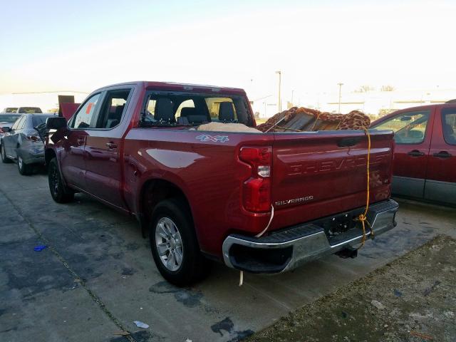 2019 Chevrolet SILVERADO | Vin: 3GCUYDED6KG218472