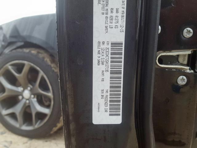 2016 Dodge    Vin: 2C3CDXCT2GH127195