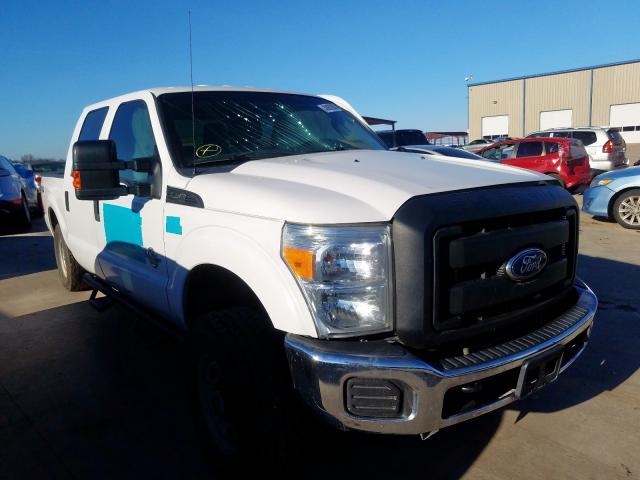 Vehiculos salvage en venta de Copart Wilmer, TX: 2016 Ford F250 Super