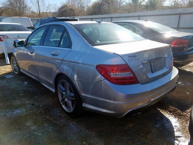 2013 Mercedes-Benz C | Vin: WDDGF8AB1DG107170