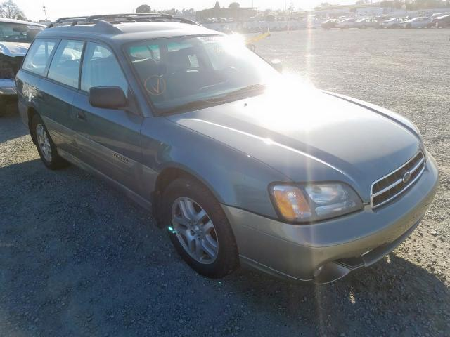 Salvage cars for sale from Copart Antelope, CA: 2002 Subaru Legacy Outback