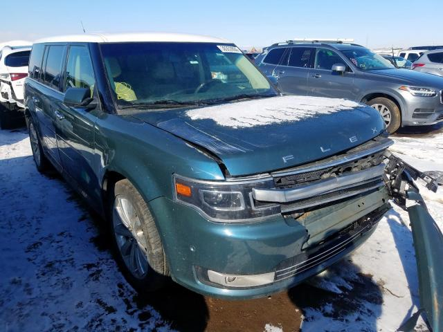 Ford Flex Limited salvage cars for sale: 2016 Ford Flex Limited