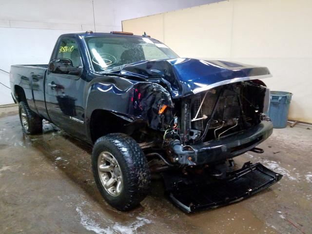 Salvage cars for sale from Copart Davison, MI: 2009 Chevrolet Silverado