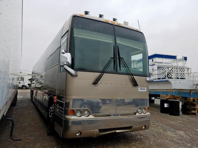 Prevost salvage cars for sale: 2008 Prevost Bus