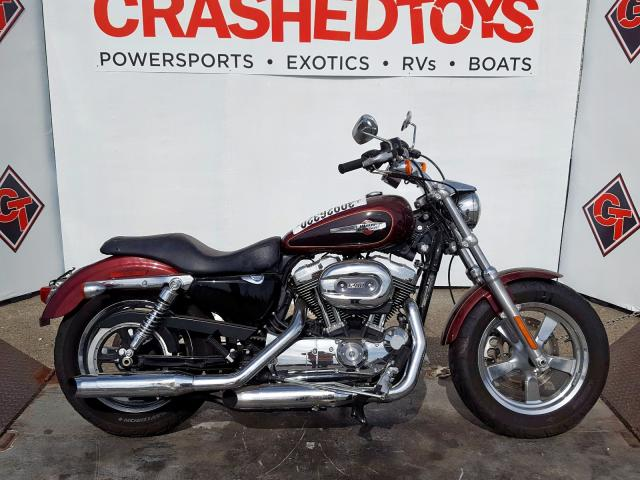 Harley-Davidson XL1200 C salvage cars for sale: 2015 Harley-Davidson XL1200 C