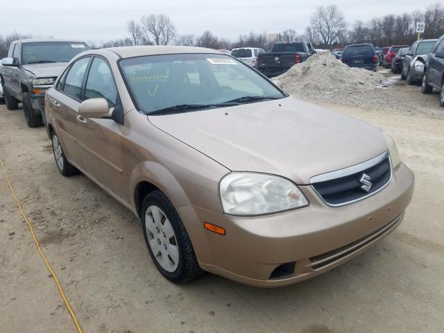 Salvage cars for sale from Copart Des Moines, IA: 2007 Suzuki Forenza BA