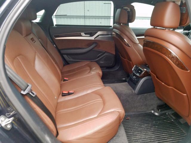2014 Audi A8 L QUATTRO | Vin: WAURGAFD2EN010605