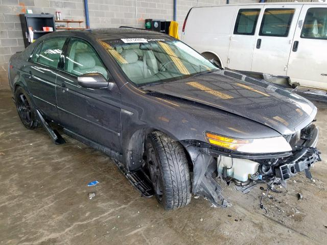 Salvage cars for sale from Copart Loganville, GA: 2008 Acura TL