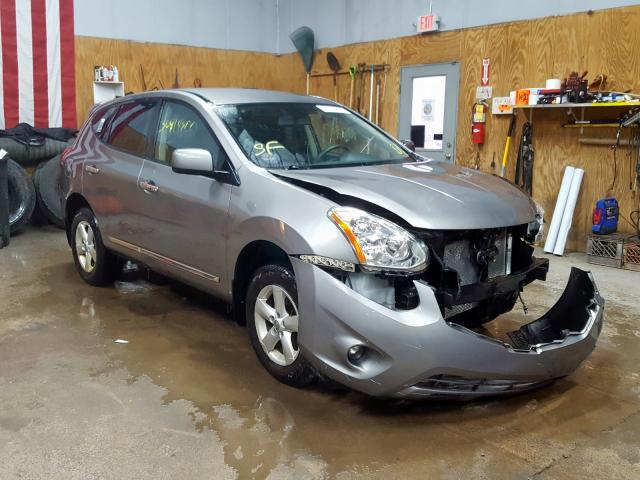 Salvage cars for sale from Copart Kincheloe, MI: 2013 Nissan Rogue S