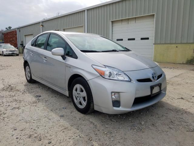 Salvage cars for sale from Copart Hampton, VA: 2010 Toyota Prius