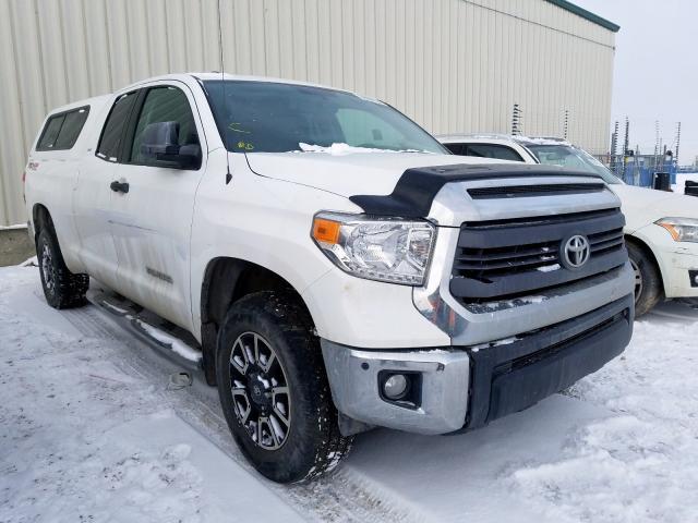 Toyota salvage cars for sale: 2014 Toyota Tundra DOU