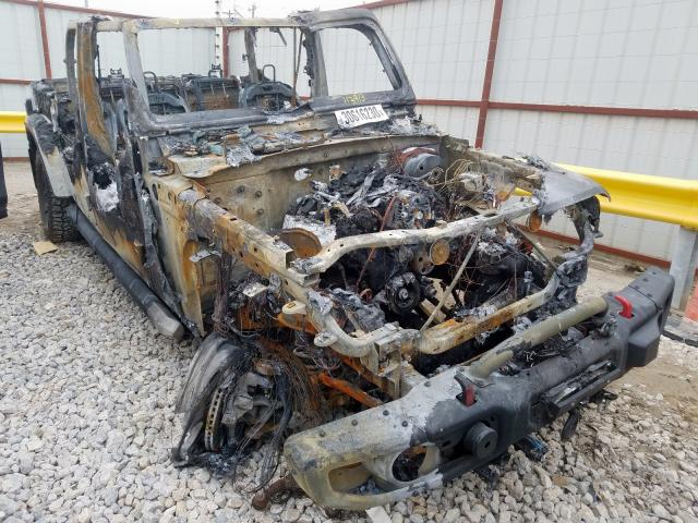 Salvage 2020 Jeep GLADIATOR for sale
